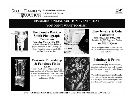 Scott Daniel's Auction as seen in Antiqu