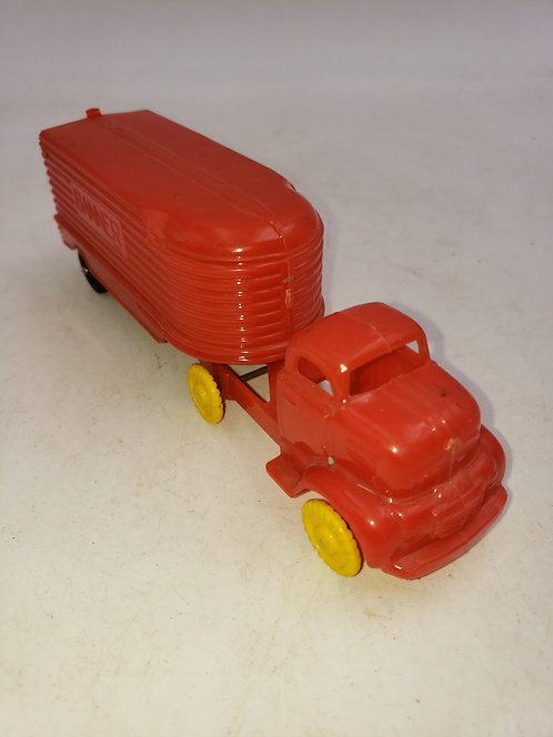 Vintage Banner Semi/ Tow Behind Toy