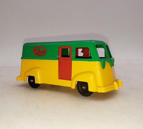 Vintage Ideal Hard Plastic Toy Service Delivery Van USA I 1790