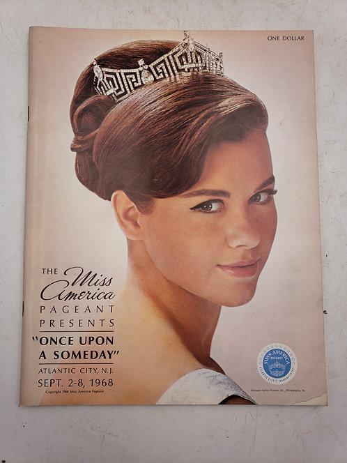 1968 Miss America Pageant Program