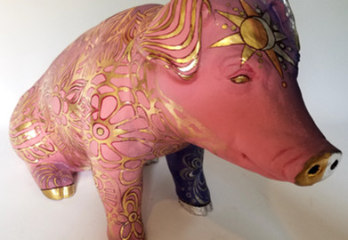 Aimee Cavazzi  Divine Swine