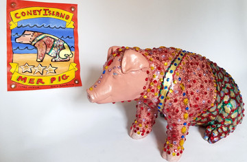 The Coney Island Mer Pig by  Marie Roberts