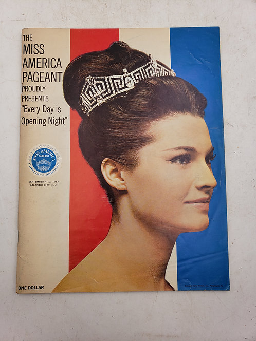 1967 The Miss America Pageant Official Program