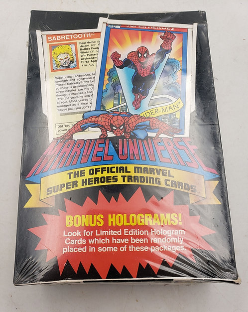 1990 Impel Marvel Universe Series 1 Trading Card Unopened Box