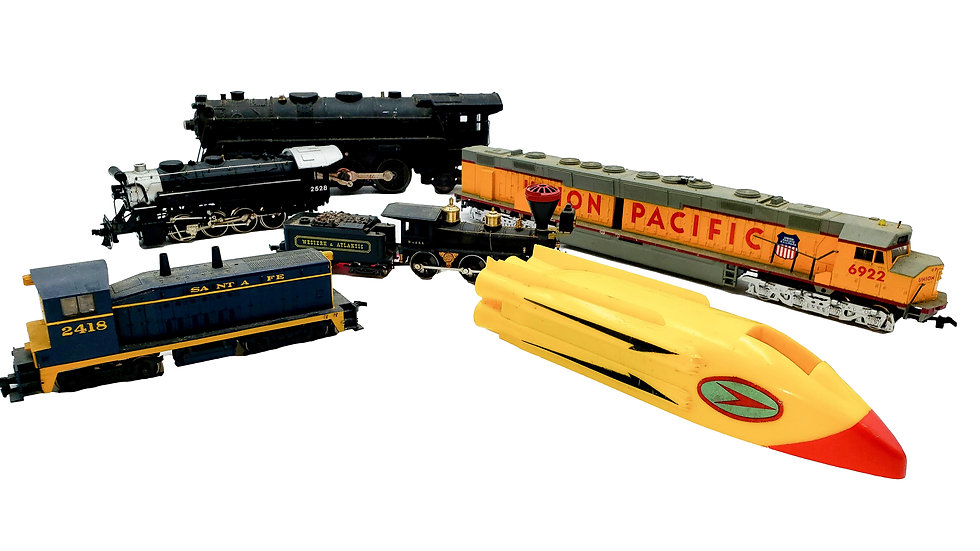 Train Collection of over 1000 pcs comes to Scott Daniel's Auction