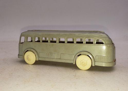 Vintage Plasticville- Grey Bus