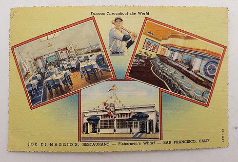 1939 Joe Di Maggio's Restaurant at FishermansWarfin San Fran