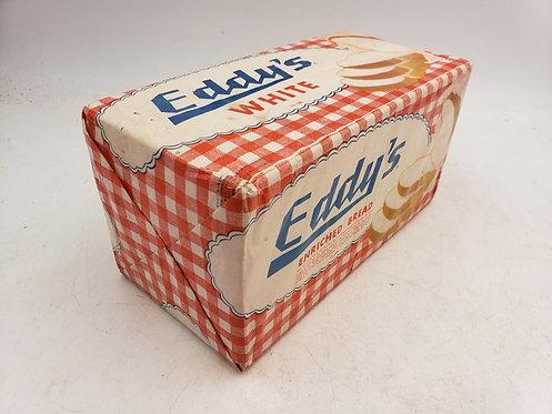 Vintage Advertising- Display Food - Eddy's Bread