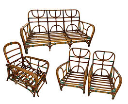 Rattan Set sells for close to $2000 at a