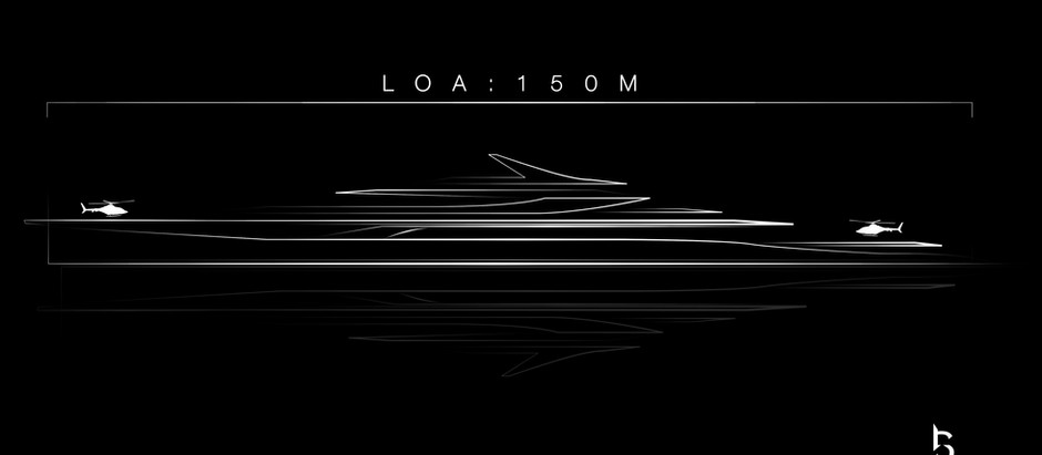 150m/492.126ft Super Yacht Coming Soon!!!
