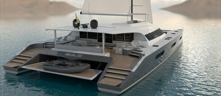 Seabliss Catamaran Concept(45m/147ft)