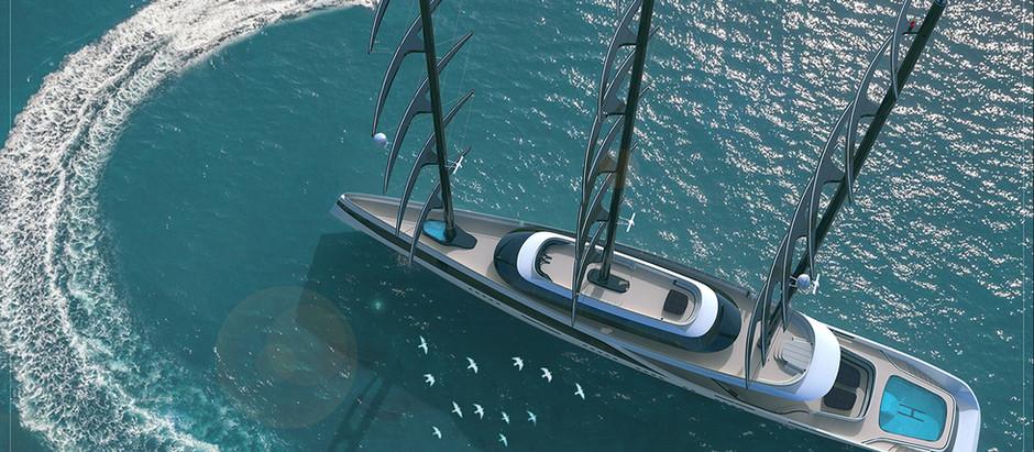 Super Sailing Yacht Bhavana(84m/275ft)