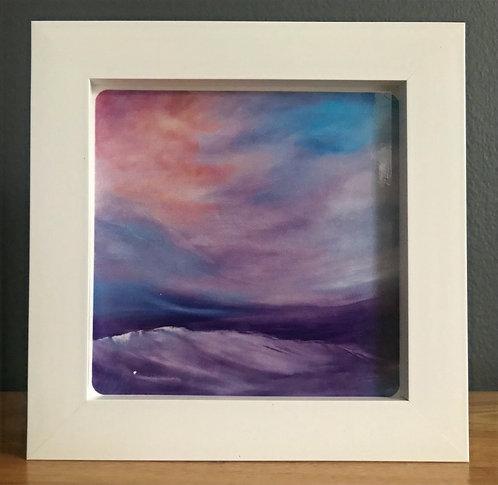 Box Framed Ceramic Tile No.5