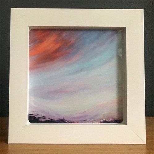 Box Framed Ceramic Tile No.8