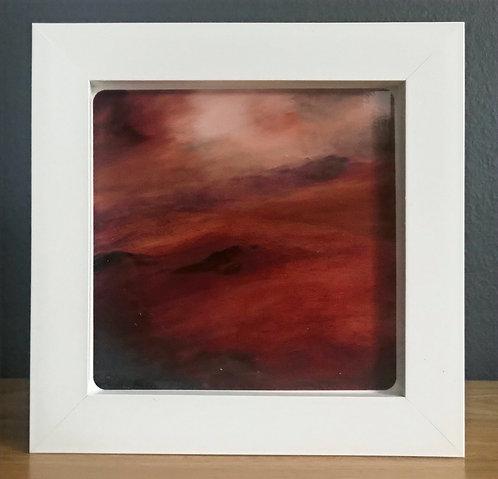 Box Framed Ceramic Tile No.7