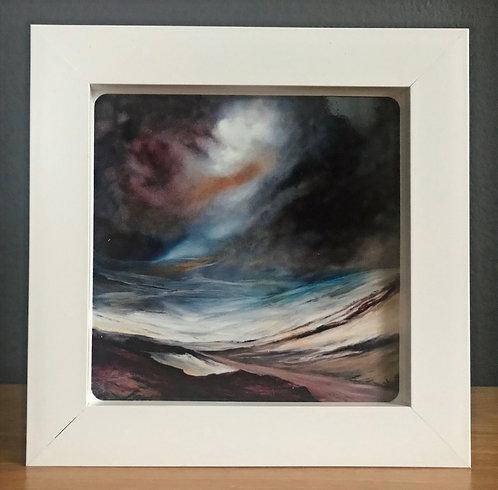 Box Framed Ceramic Tile No.6
