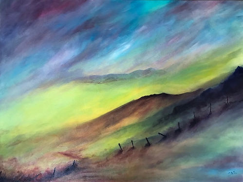Inspired by Switzerland, The Apls, Keswick & The Lake District, Paintings, Prints and Ceramic Coasters, Full Portfolio & Gallery at earthcolours.net & The Lake District Coasters shop