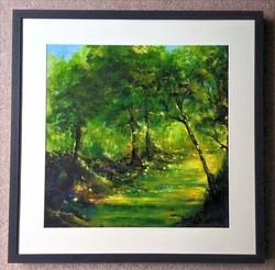 Woodland series 2 no 2 framed