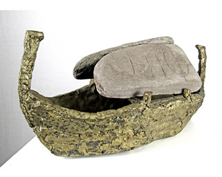 Celtic Boat with Cargo