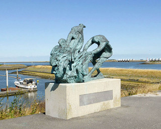 Monument for fishermen lost at sea