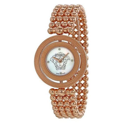 Versace Ladies'Watch Crystal Quartz (35 mm)