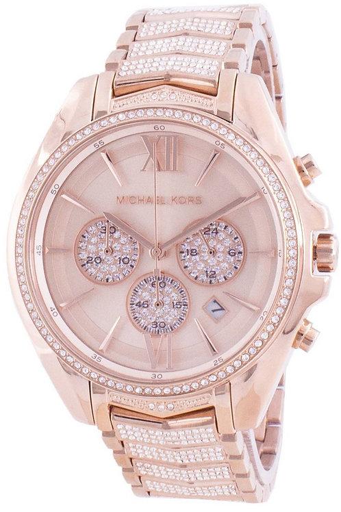 Michael Kors Whitney Quartz Diamond Accents Women's Watch