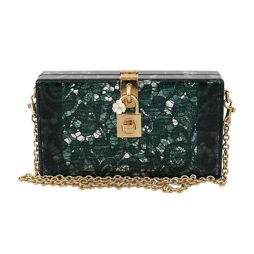Dolce & Gabbana Women's Green Taormina Clutch Bag