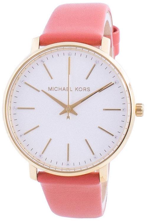 Michael Kors Pyper White Dial Diamond Accents Quartz  Women's Watch