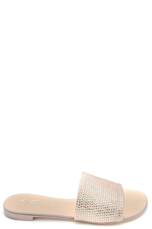 Giuseppe Zanotti Gold Leather Sandal