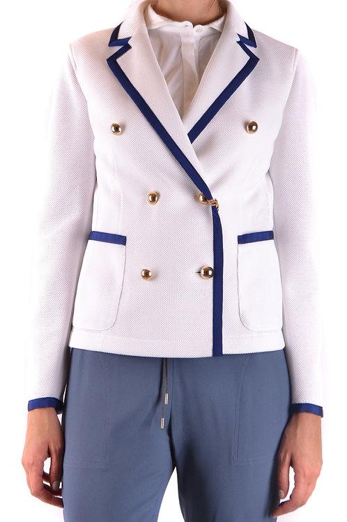 Fay Cotton White Jacket