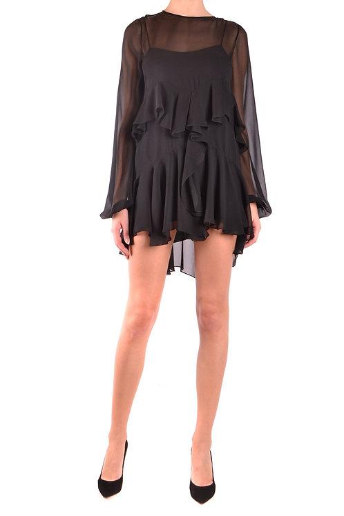 Dress Saint Laurent Black Silk