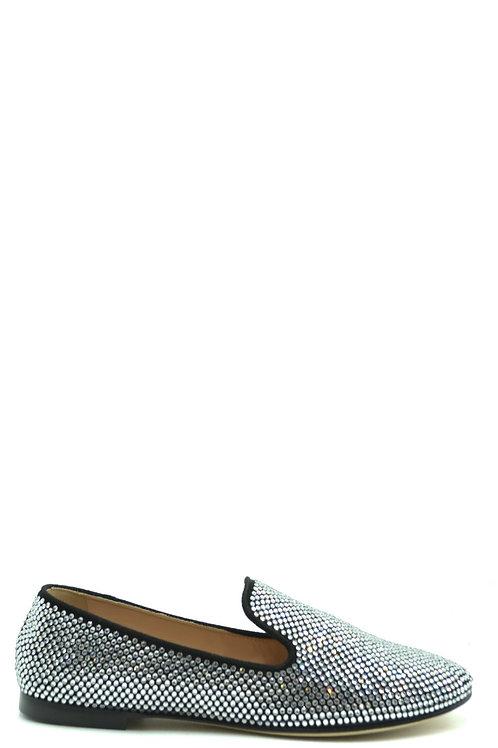 Giuseppe Zanotti Silver Leather