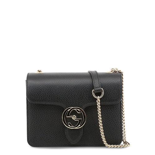 Gucci Medium Black Shoulder Bag