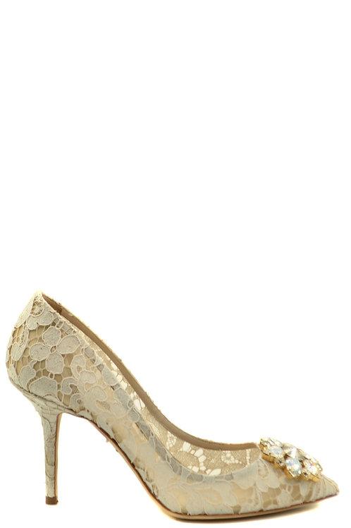 Dolce & Gabbana Cream Stiletto