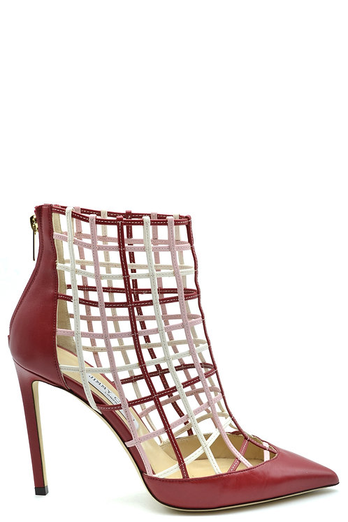 Jimmy Choo Red Leather Pump