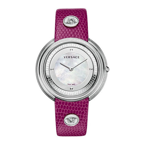 Ladies'Watch Versace Pearl Leather (39 mm)