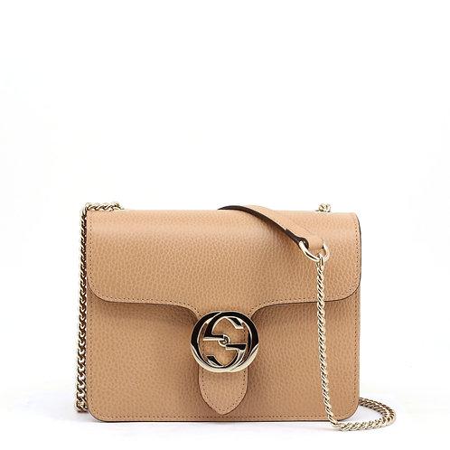 Gucci Beige Medium Shoulder Bag