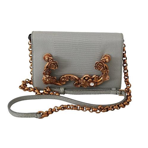Dolce & Gabbana Women's Gray Crossbody Bag