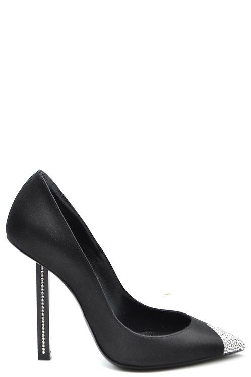 Saint Laurent Black Stiletto
