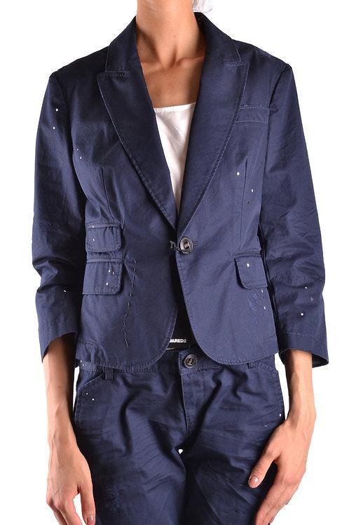 Dsquared Cotton Blue Jacket
