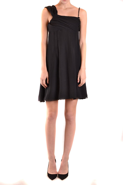 Dress John Richmond Black Silk Taglieur