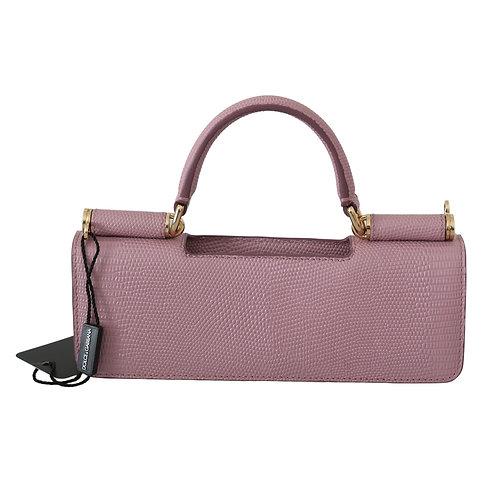 Dolce & Gabbana Women's Pink Leather Micro Bag