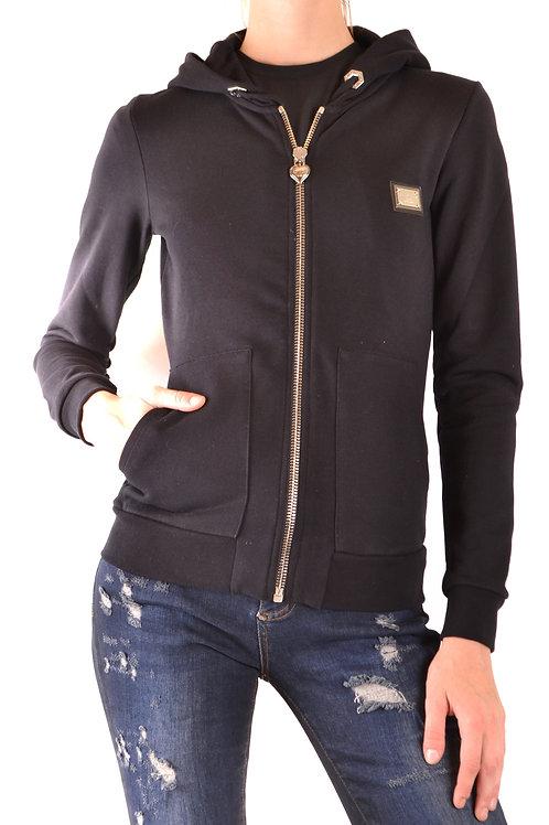 Philipp Plein Blue Cotton Sweatshirt