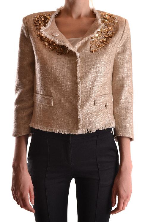 Elisabetta Franchi Gold Cotton Jacket
