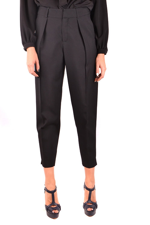 Trousers Saint Laurent Black Wool