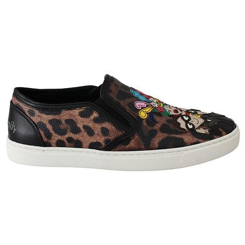 Dolce & Gabbana Women's Leopard Sneakers
