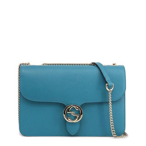 Gucci Blue Medium Shoulder Bag