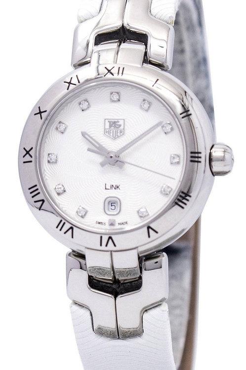Tag Heuer Link Bracelet Diamond Dial  Women's Watch