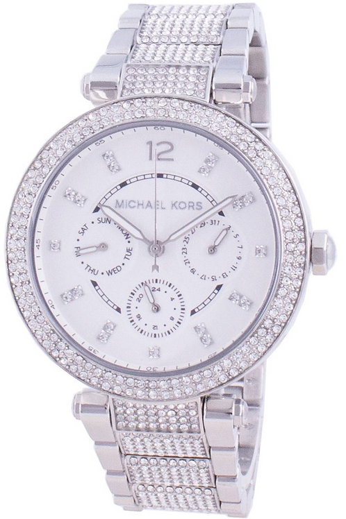 Michael Kors Parker  Quartz Diamond Accents Women's Watch