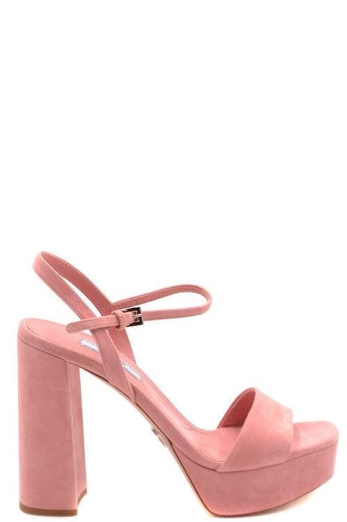 Prada Pink Chamois Pump